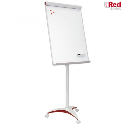 Flipchart Mobilechart Red
